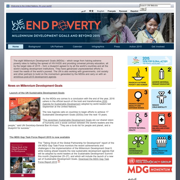 United Nations Millennium Development Goals