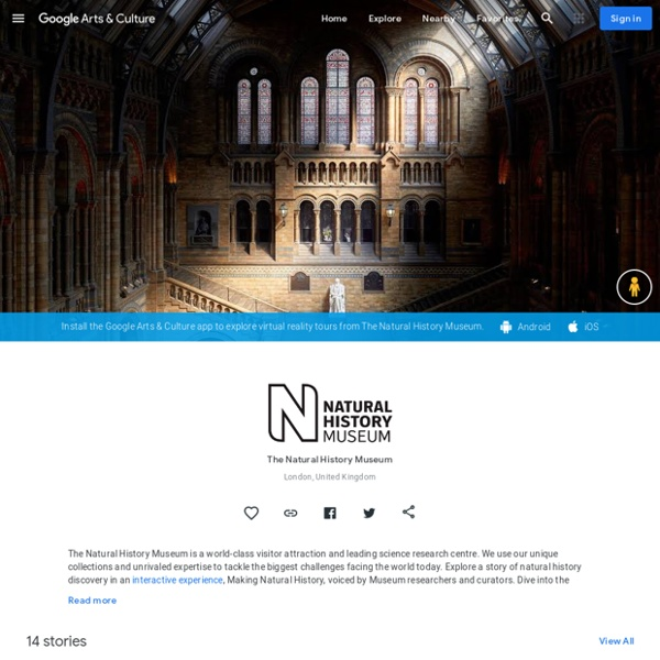 Angleterre : The Natural History Museum, London, United Kingdom