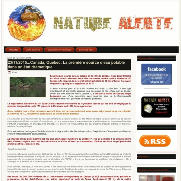 Nature alerte