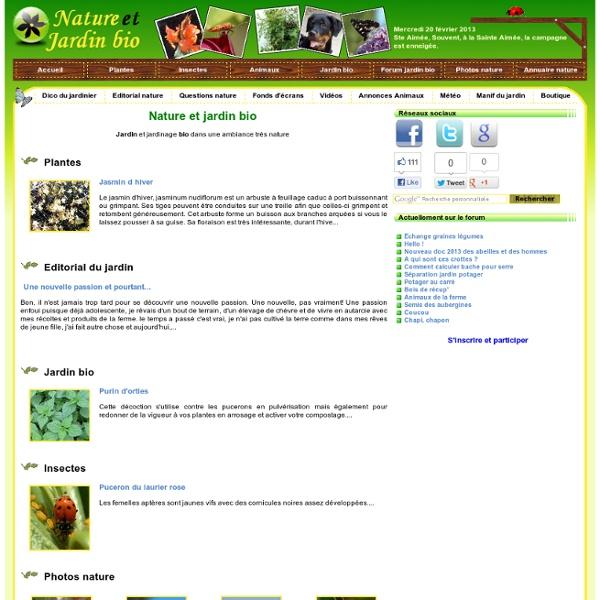 Nature et jardin bio