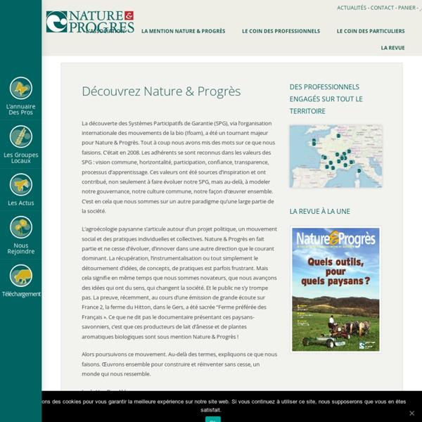 Nature et Progrès - Fédération Internationale de l'Agriculture Biologique