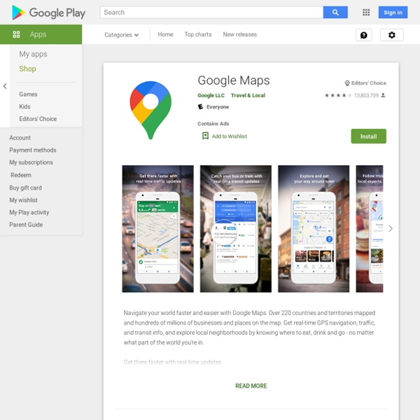 Google Maps - Android Market