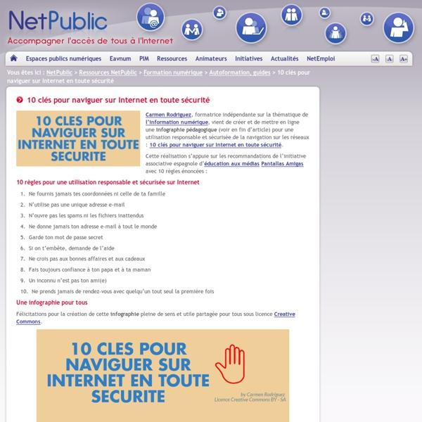 10 clés pour naviguer sur Internet en toute sécurité