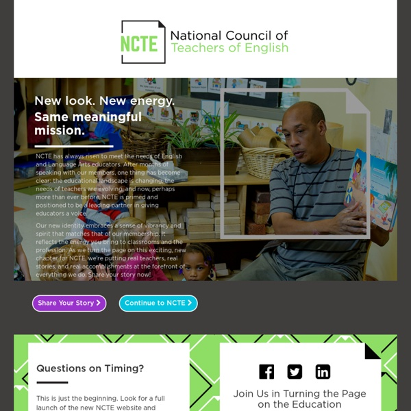 National Council of Teachers of English - Homepage