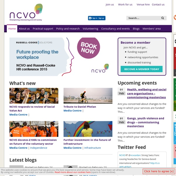 NCVO - Home