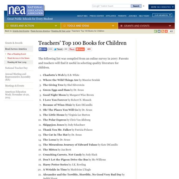 Teacher's Top 100 Books for Children