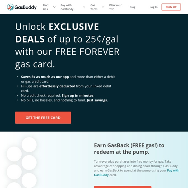 GasBuddy.com - Find Low Gas Prices in the USA and Canada