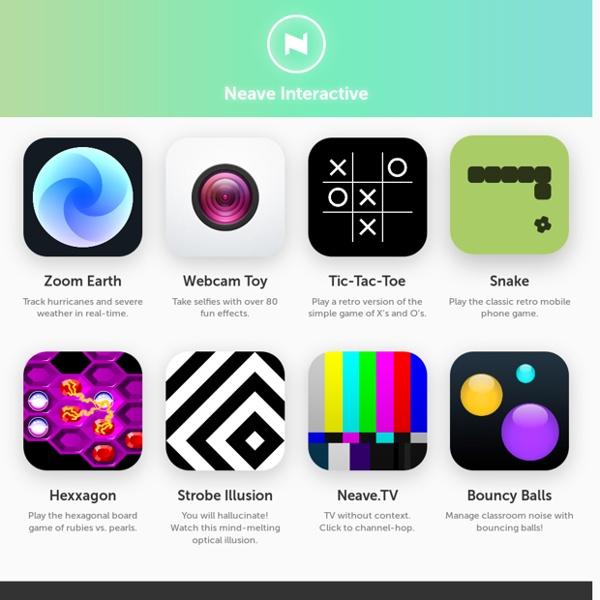 Neave Interactive - Paul Neave's digital playground