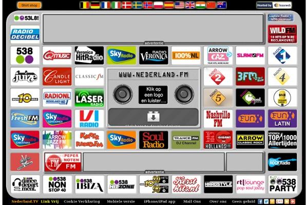 ... .FM - Radio luisteren via Internet, klikken en luisteren | Pearltrees