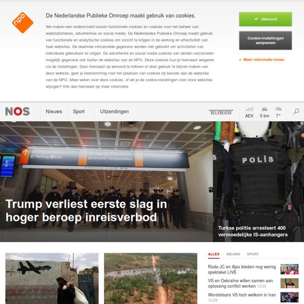 NOS.nl - Nieuws, Sport en Evenementen op Radio, TV en Internet
