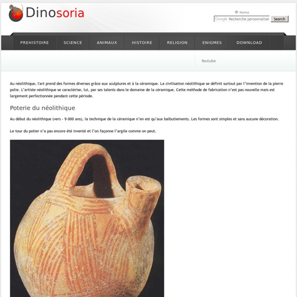 Art du Neolithique. En Images