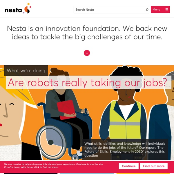 Nesta - innovation in the UK