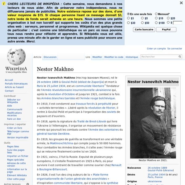 Nestor Makhno