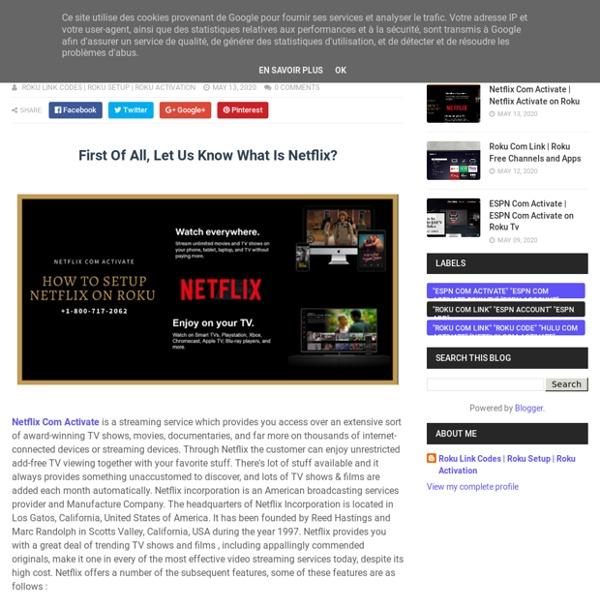 Netflix Activate on Roku - Roku Setup