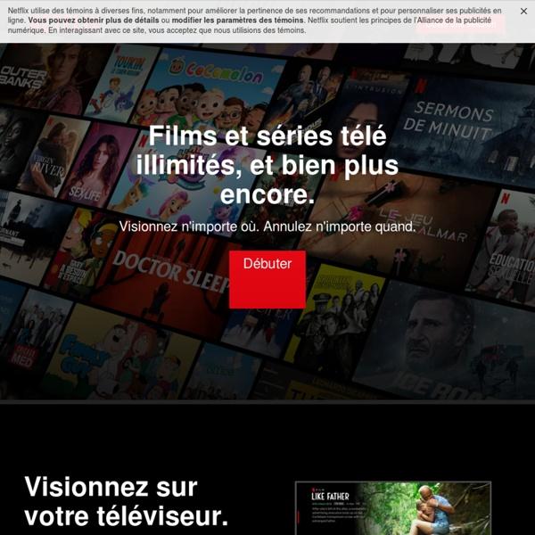 Regardez des séries TV en ligne, Regardez des films en ligne