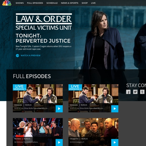 TV Network for Primetime, Daytime and Late Night Television Shows