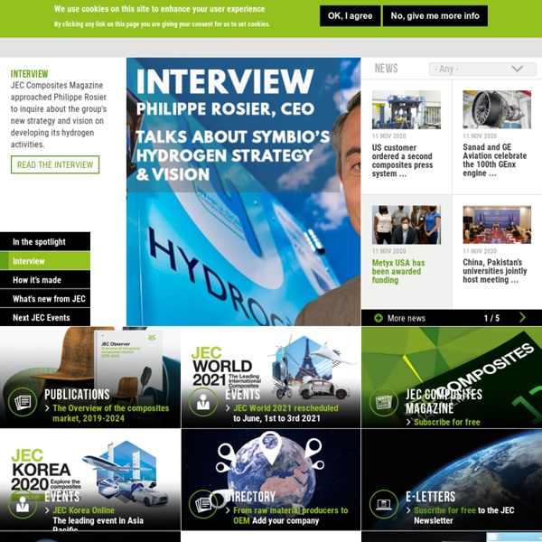 Knowledge & Networking - Developing the composites industry worldwide