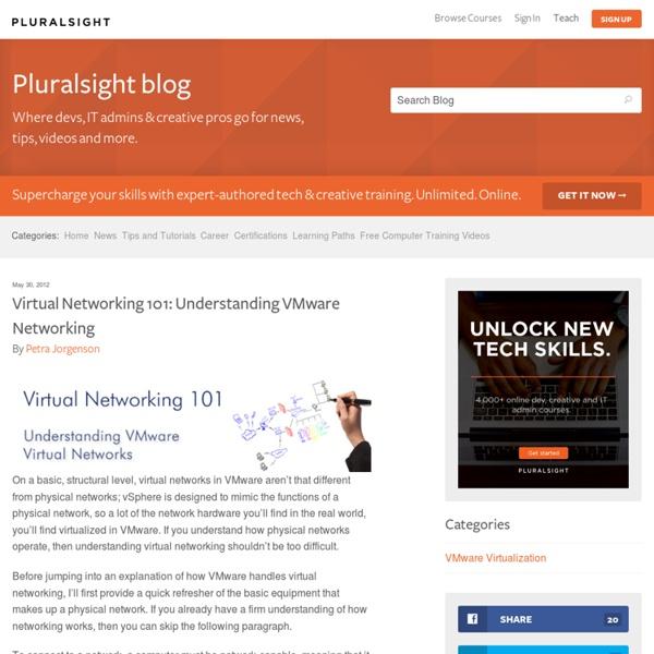 Virtual Networking 101: Understanding VMware Networking