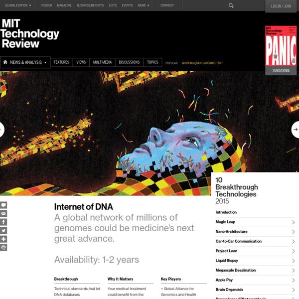 Networks of Genome Data Will Transform Medicine
