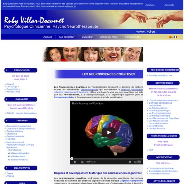 Les Neurosciences Cognitives