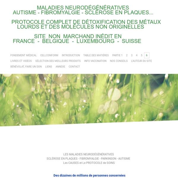 6 informations maladies neurodégénératives - Site de protocoles !
