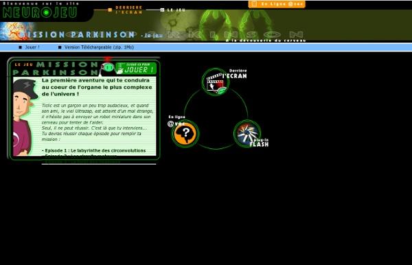 NEUROJEU.com - Derrière l'écran