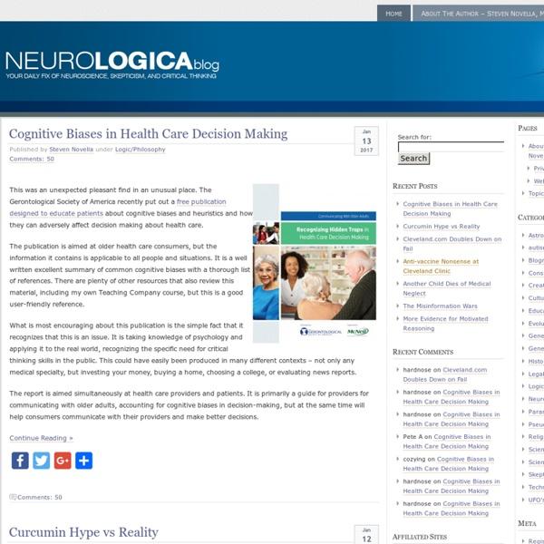 NeuroLogica Blog