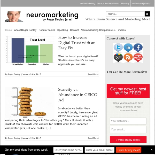 Where Brain Science and Marketing Meet