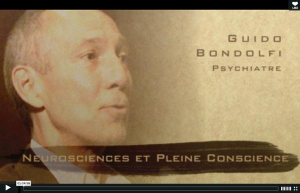 Neurosciences et Pleine Conscience — Guido Bondolfi