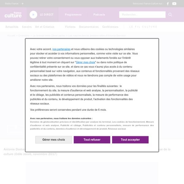 Les neurosciences émotionnelles d'Antonio Damasio
