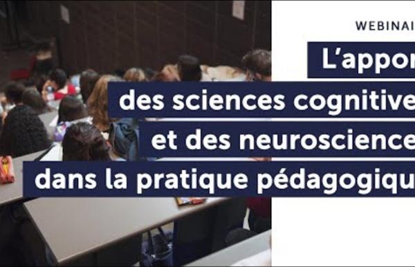 L'apport des sciences cognitives et des neurosciences dans la pratique pédagogique
