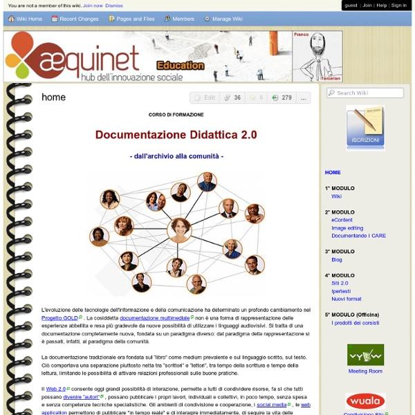 """Corso """"Documentazione Didattica 2.0"""""""