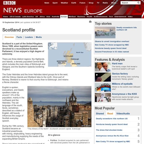 Scotland profile - Overview