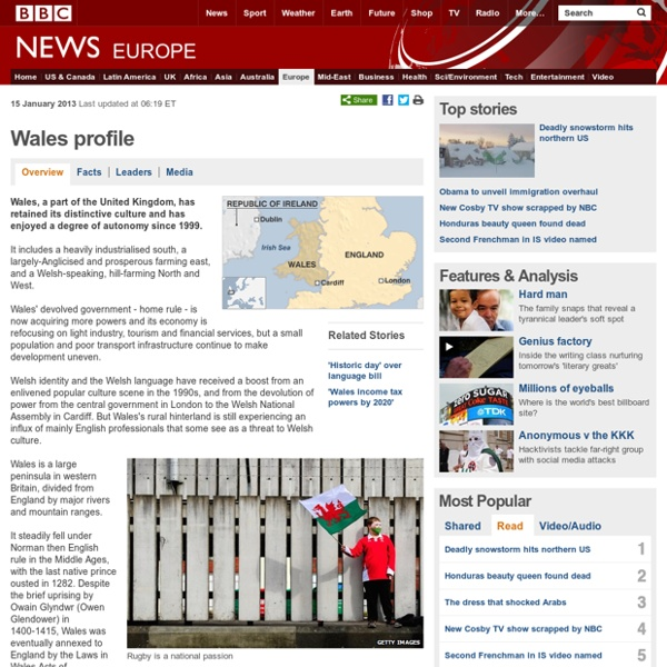 Wales profile - Overview