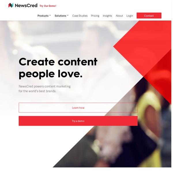 Content Marketing Platform For Brands