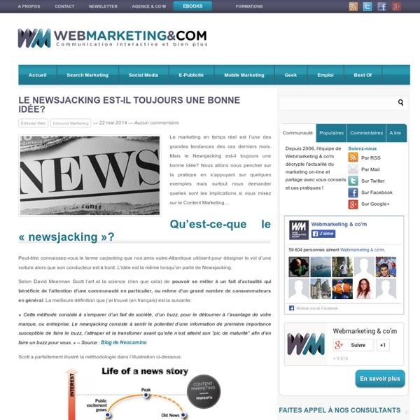 Le Newsjacking est-il toujours une bonne idée?