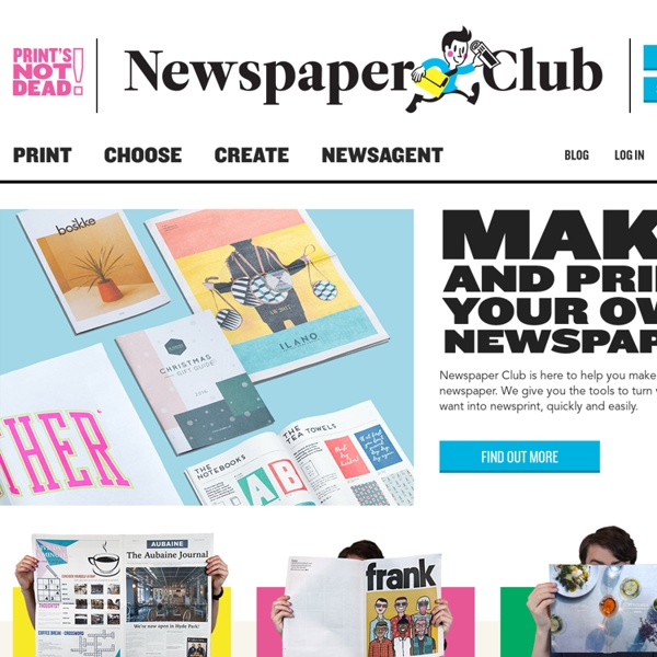 Helping people to make their own newspapers