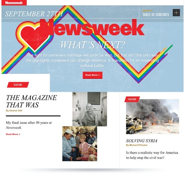 News, Analysis, Politics, Business, Technology, Lifestyle, Photos and Video - Newsweek