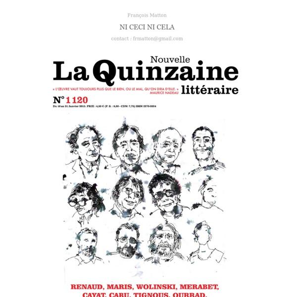 Le blog de François Matton - Carnet de dessins inclassables, esquisses de projets pour des livres à paraître, manuel de survie pour Robinson citadins, bréviaire pour une vie meilleure...