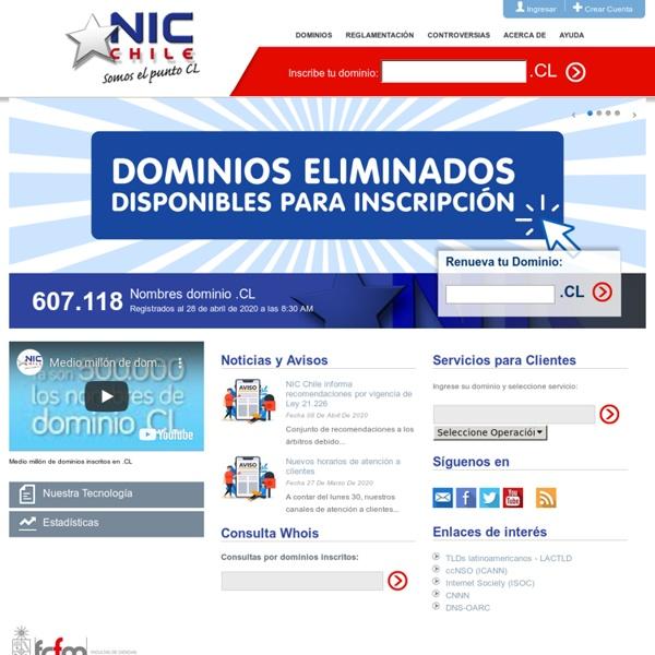 NIC Chile, somos el punto CL - NIC Chile