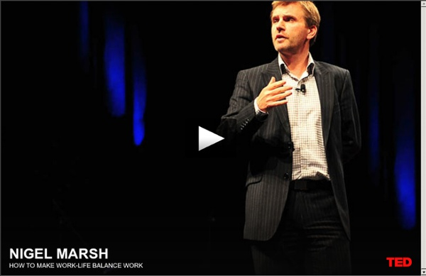 Nigel Marsh: How to make work-life balance work