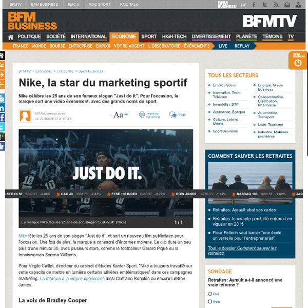 Nike, la star du marketing sportif