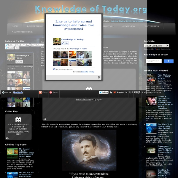 Nikola Tesla The Secret Movie - Unlimited Free Energy Forever