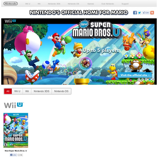 Play Super Mario Games Online