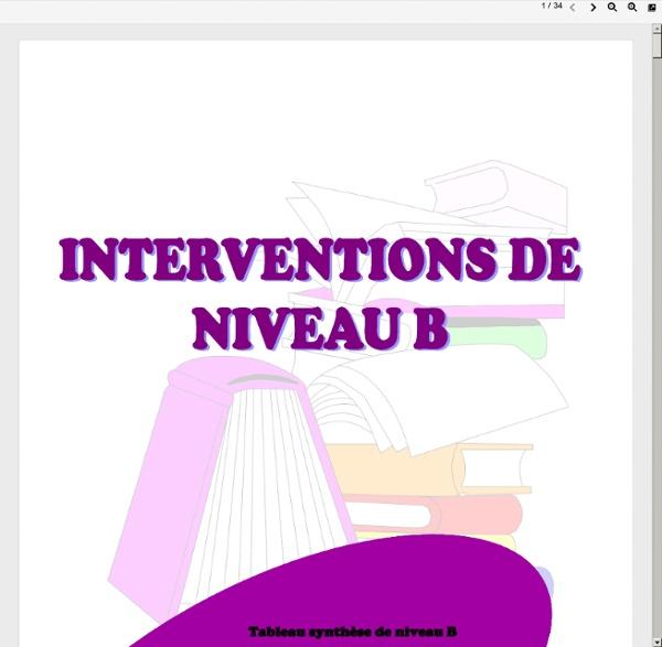 Ninterventions_niveaub