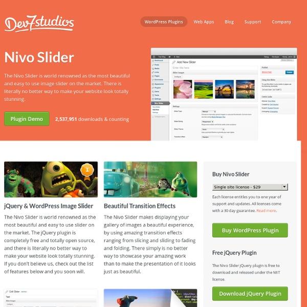 Nivo Slider™ - Dev7studios