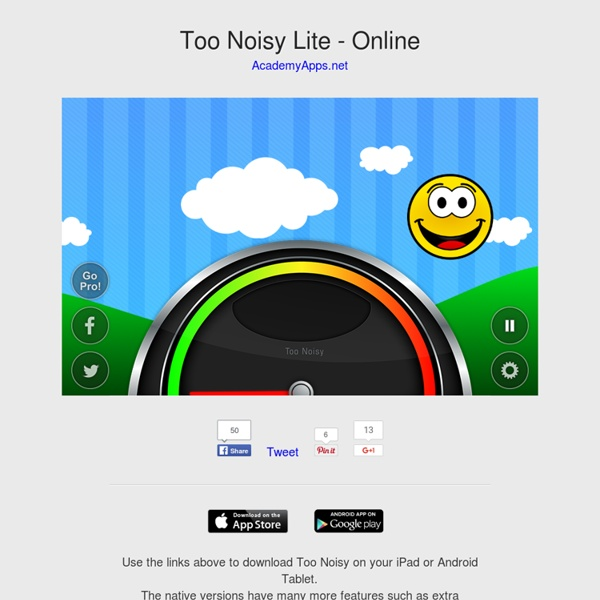 Too Noisy - Noise Meter Application