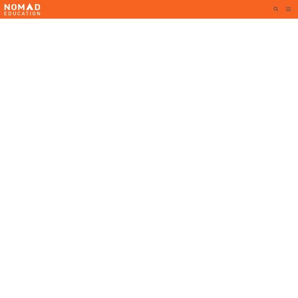 Nomad Education - Mobile Education - Nomad Education