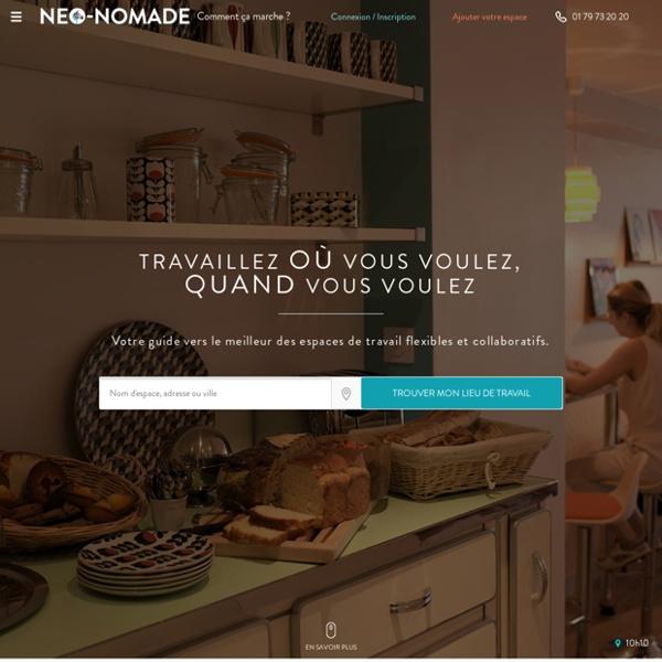 Coworking, café internet et location de bureau - Neo Nomade