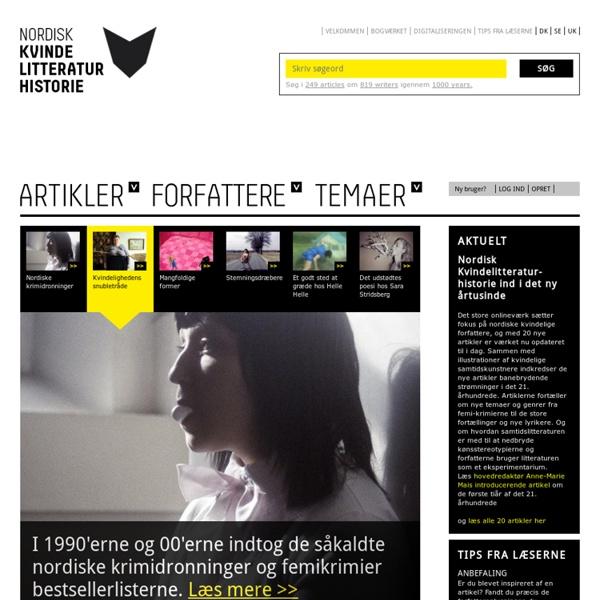 Nordisk Kvindelitteraturhistorie